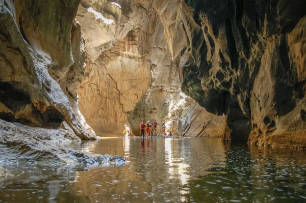 el río subterráneo San Jerónimo