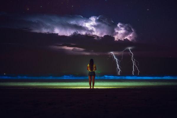 Cosas que hacer en México playas bioluminiscentes en México