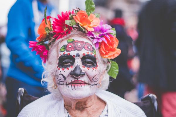 México es el país más colorido del mundo Día de muertos Catrina