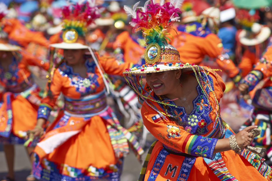 fiestas costumbristas de chile carnaval de arica