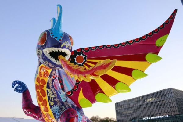 desfile de alebrijes monumentales en Ciudad de México