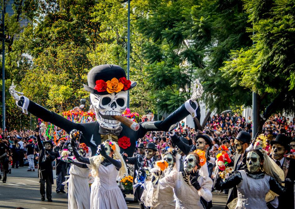 Desfile de Día de Muertos en la CDMX 2018