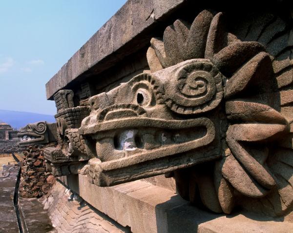 la partida de Quetzalcóatl
