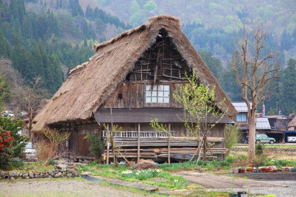 casas abandonadas en Japón
