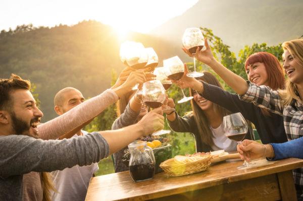 expresiones chilenas sobre tomar alcohol