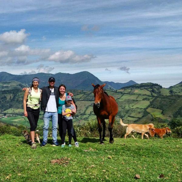 naturaleza cerca de Quito