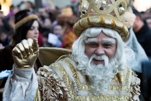 reyes magos en México y España