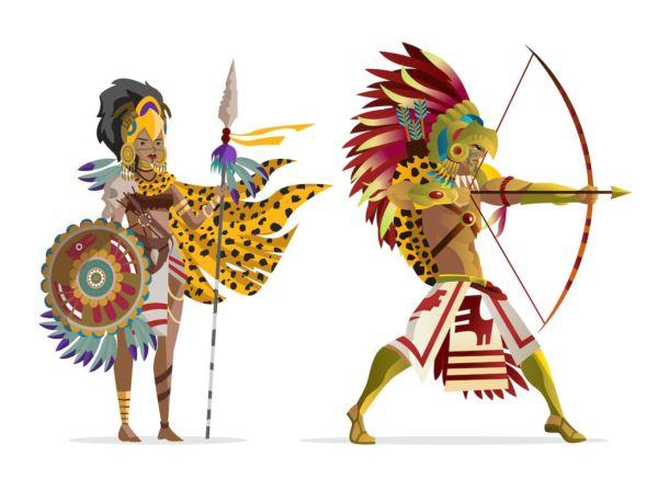 el guerrero águila y el guerrero jaguar