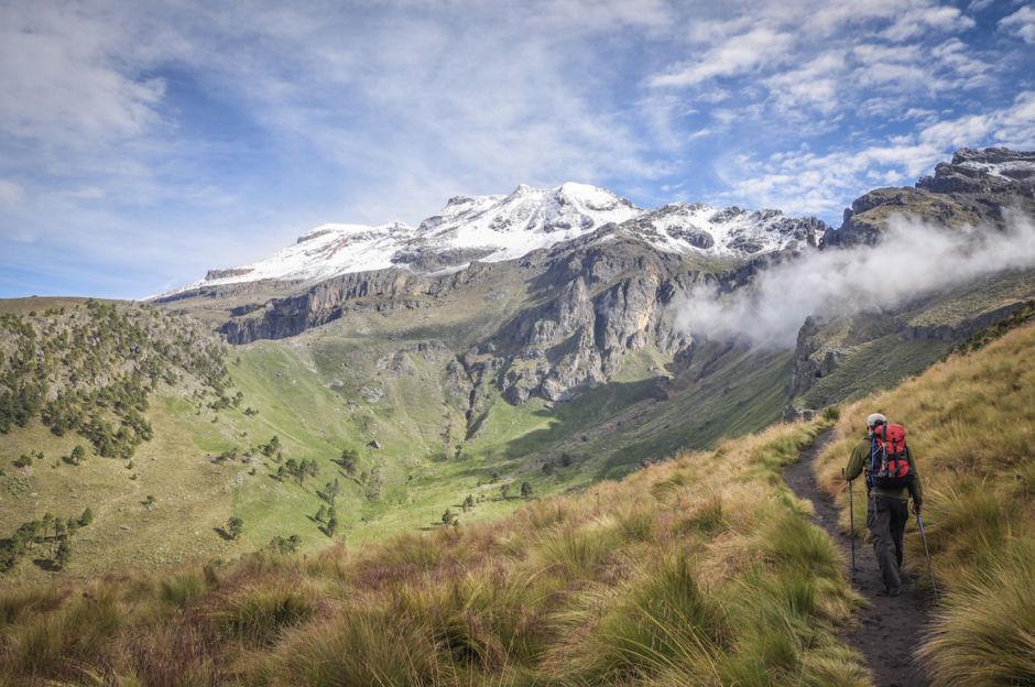 Iztaccíhuatl volcanes siameses