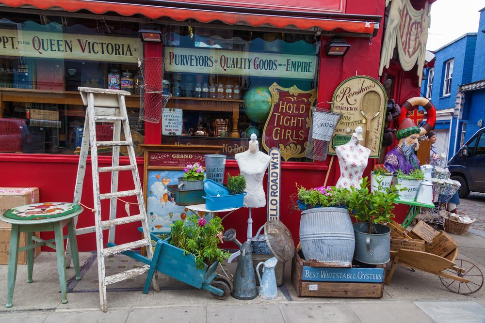 Portobello Road Market Londres