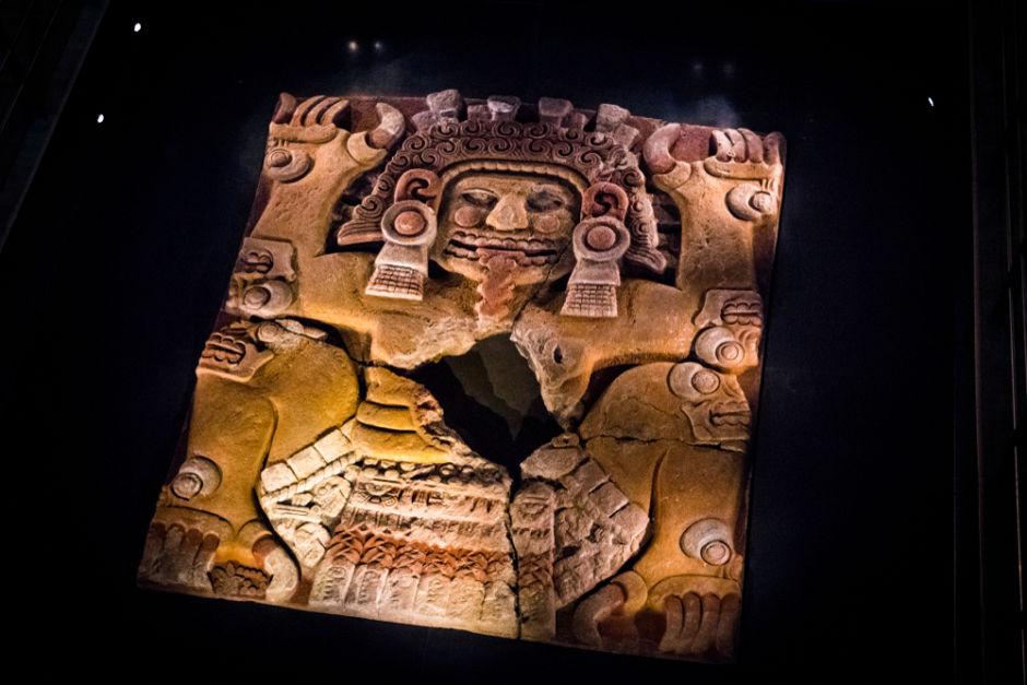 piezas principales Qué ver en el Museo del Templo Mayor Ciudad de México Monolito de Tlaltecuhtli