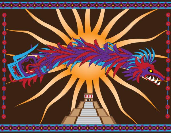 Quetzalcóatl blanco