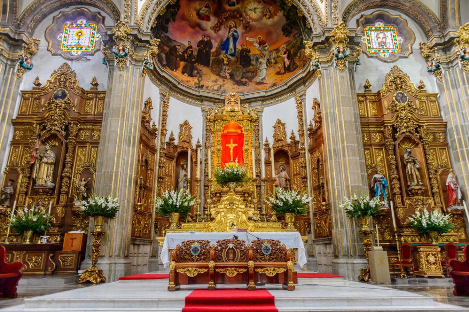 historia de la iglesia San Juan Bautista en Coyoacán