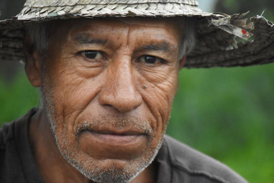 jornalero de la chinampa Xochimilco