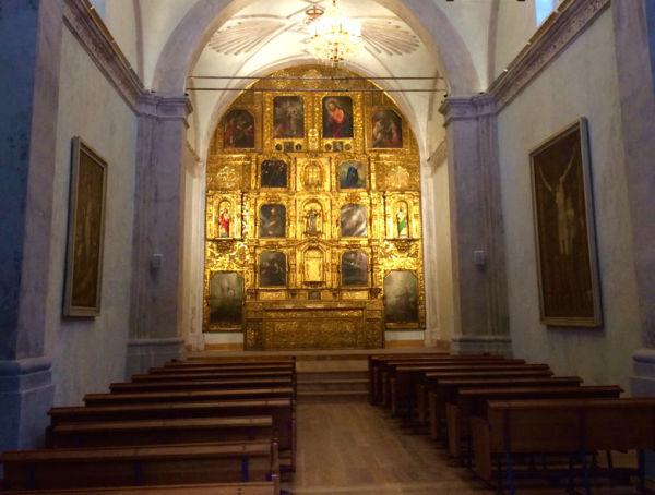 historia de la iglesia La Conchita de Coyoacán