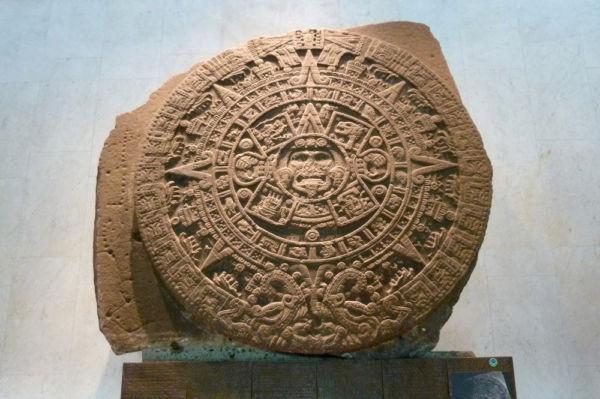 qué ver en el Museo Nacional de Antropología de México Piedra del Sol