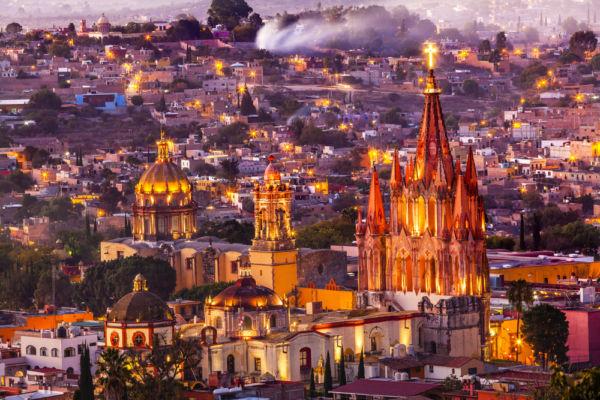 San Miguel de Allende Capital Americana de la Cultura