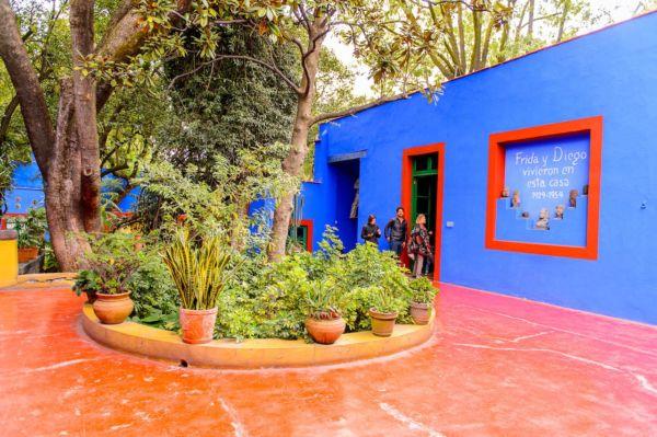 casa azul de frida kahlo