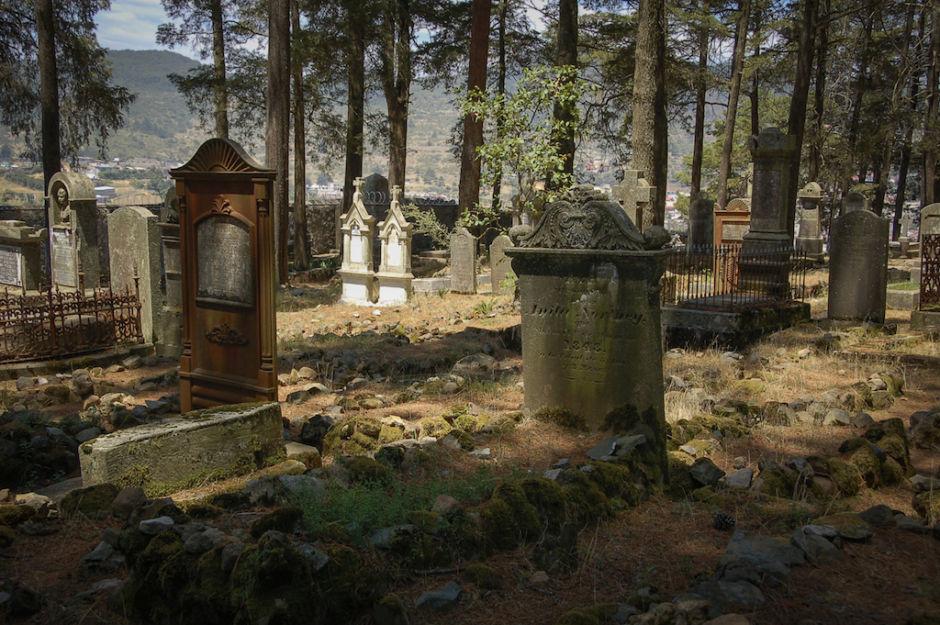 Real del Monte cementerio