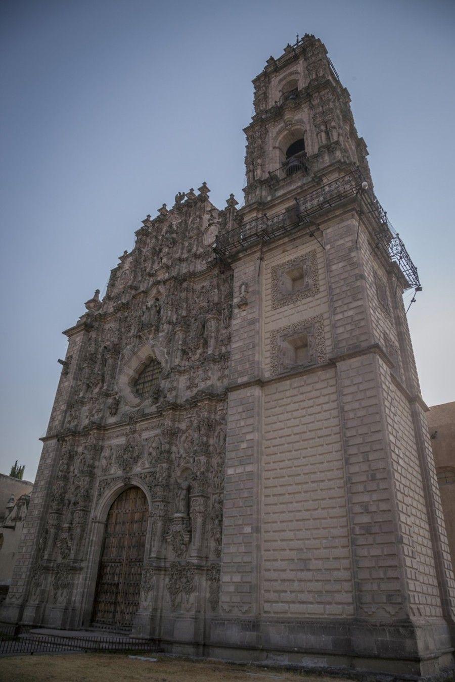 Iglesia de San Francisco Javier Tepotzotlán