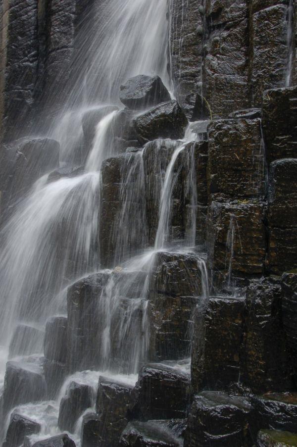 Prismas basálticos en Hidalgo México