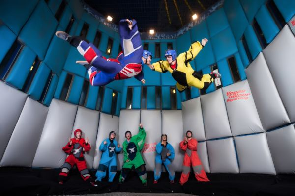 Vegas Indoor Skydiving Fred Morledge