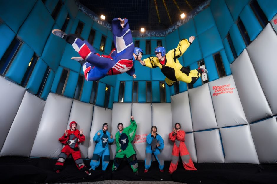 Vegas Indoor Skydiving Fred Morledge