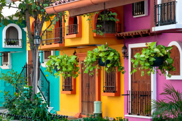casas coloridas qué hacer en Puerto Vallarta