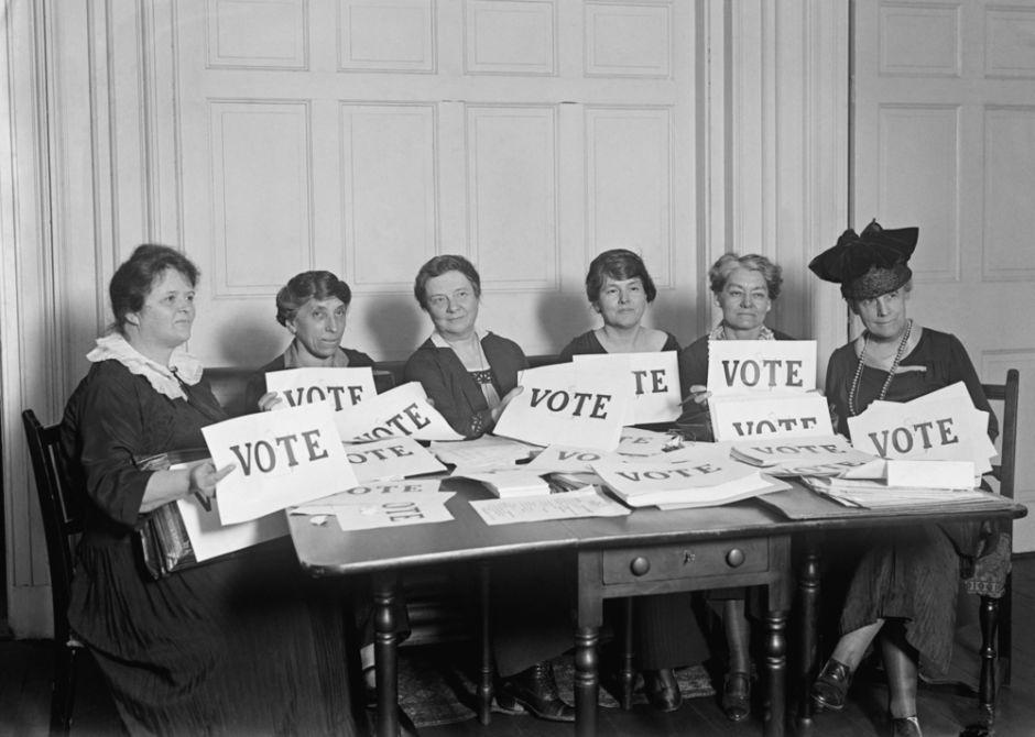 sufragio femenino derecho de las mujeres a votar