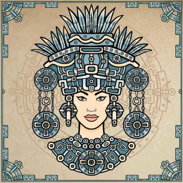 Chalchiuhnenetzin princesa mexica