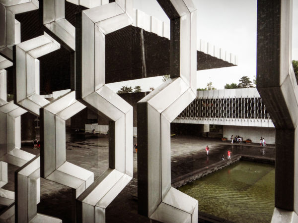 Museo de antropología legado arquitectónico de Pedro Ramírez Vázquez en la Ciudad de México