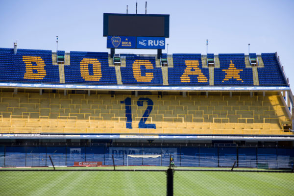 La Bombonera estadio de Boca Juniors La 12