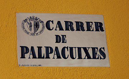 calles de la comunidad valenciana