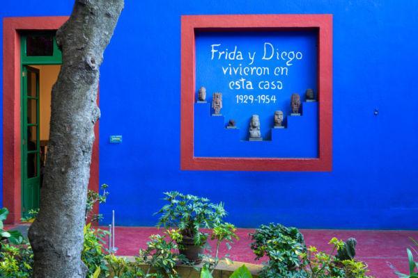 casa azul Frida y Diego