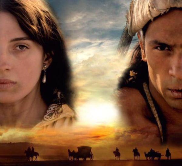 La Carga película sobre un mensajero nahua y una noble española