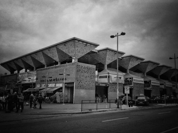 lugares poco conocidos de Santiago Mercado de abastos Tirso de Molina