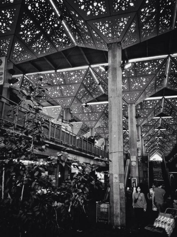 Mercado de abastos Tirso de Molina lugares poco conocidos de Santiago de Chile