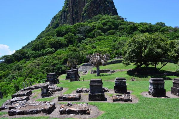 ruinas prehispánicas en Veracruz Quiahuiztlán