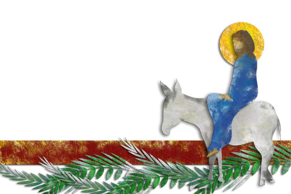 entrada de Jesús en Jerusalem