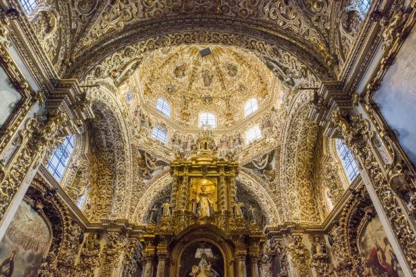 Capilla del Rosario en Puebla