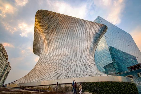 Museo Soumaya mejores arquitectos mexicanos actuales