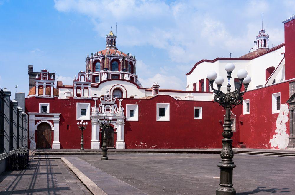 Fachada del Templo de Santo Domingo