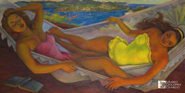 Museo Dolores Olmedo La Hamaca Diego Rivera