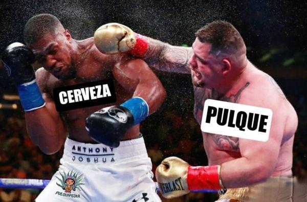 pulque versus cerveza meme