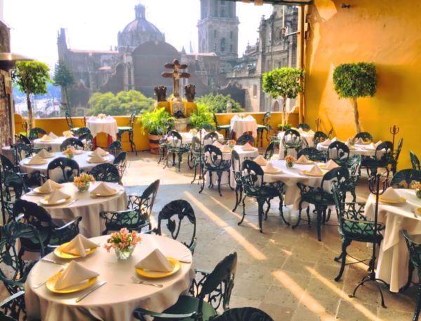 restaurantes en edificios históricos de la CDMX La Casa de las Sirenas