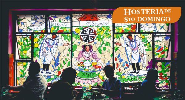 restaurantes en edificios históricos de la CDMX Hostería de Santo Domingo