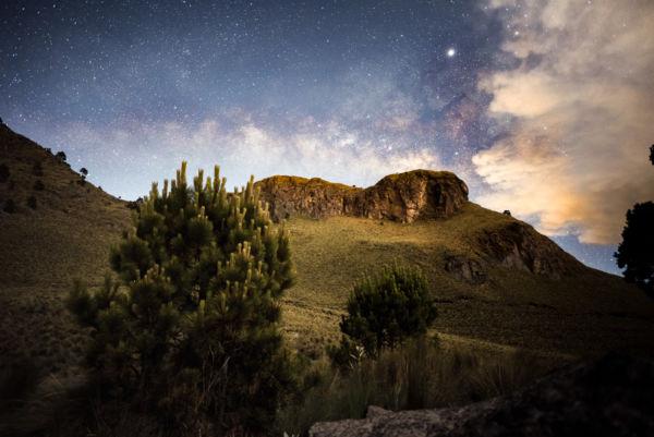 Acampar en el Iztaccihuatl