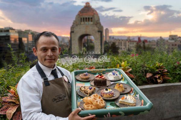 terrazas en la Ciudad de México Terraza Cha Cha Chá