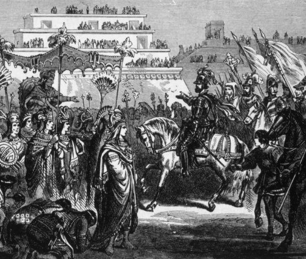 Cacamatzin Hernán Cortés Cholula