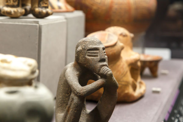 zona arqueológica El Manatí